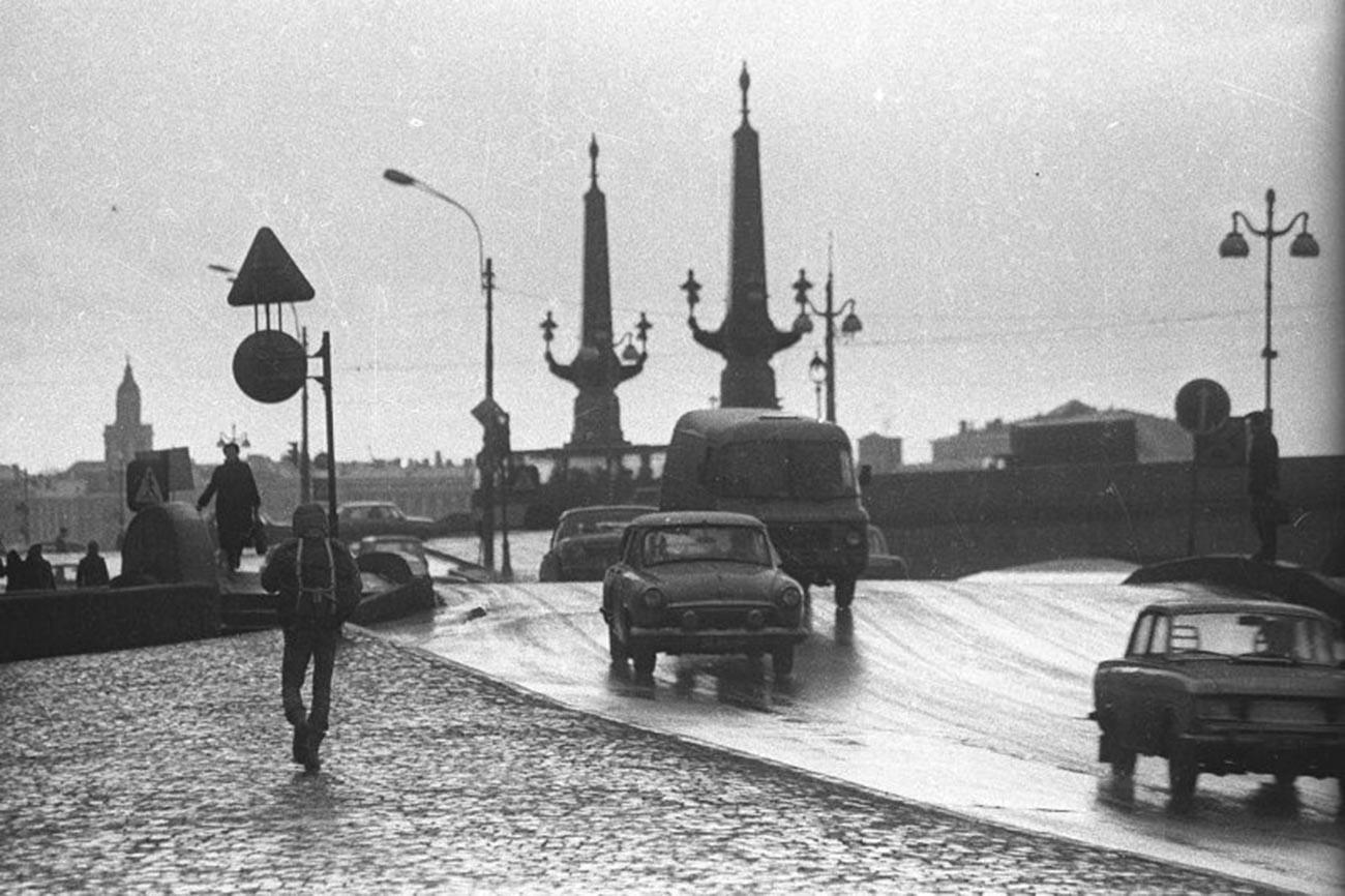 トロイツキー橋、1970年代