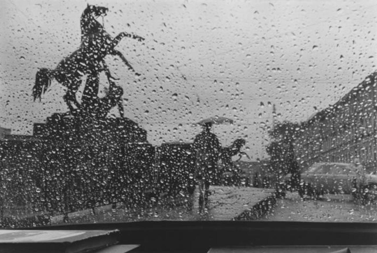 アニチコフ橋、1977年