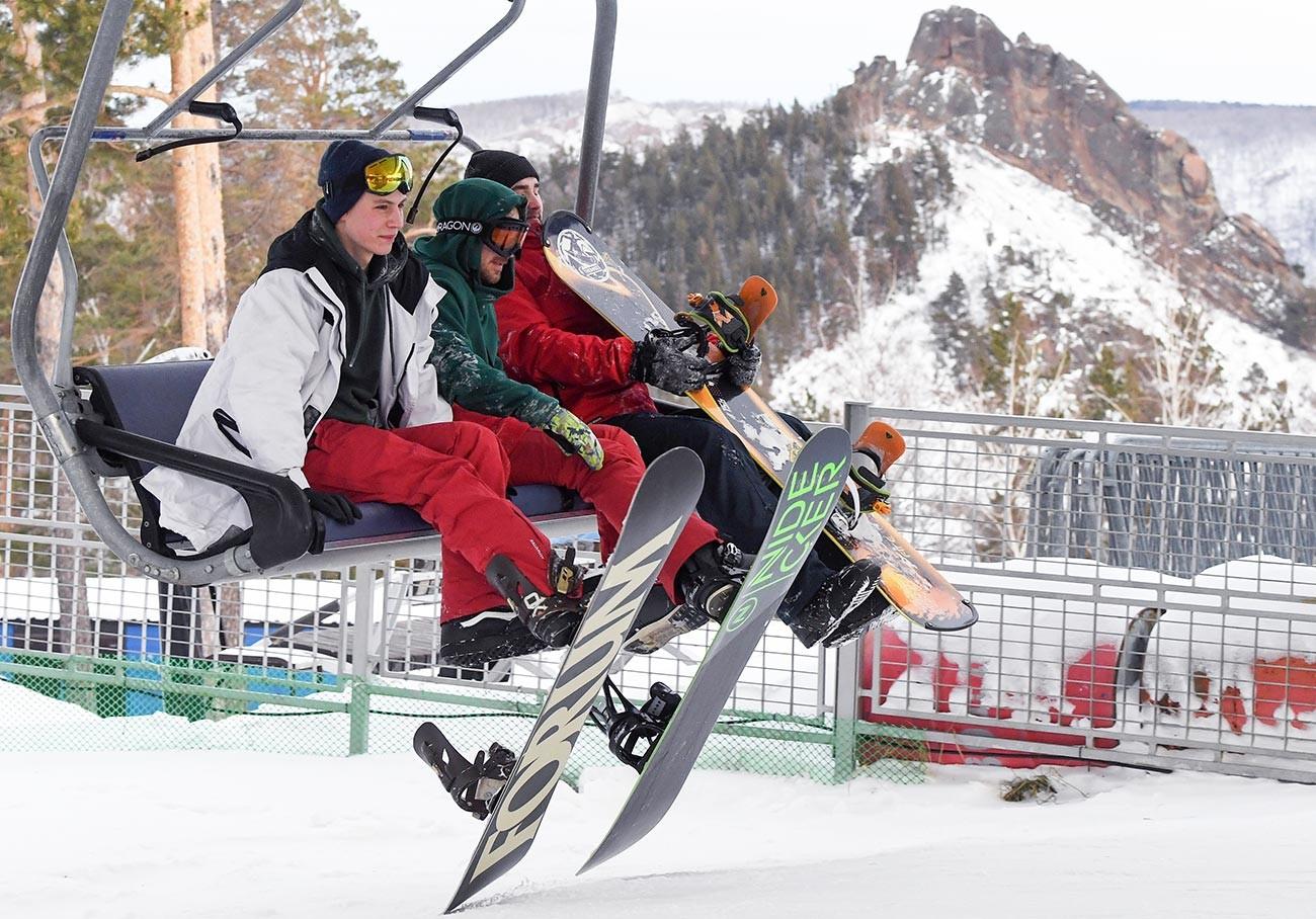 Bobrovy Log ski resort
