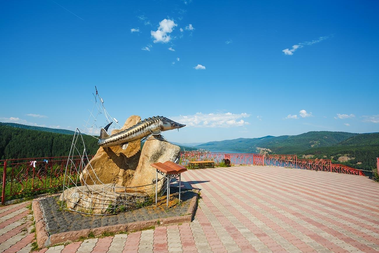Памятник «Царь-рыбе»