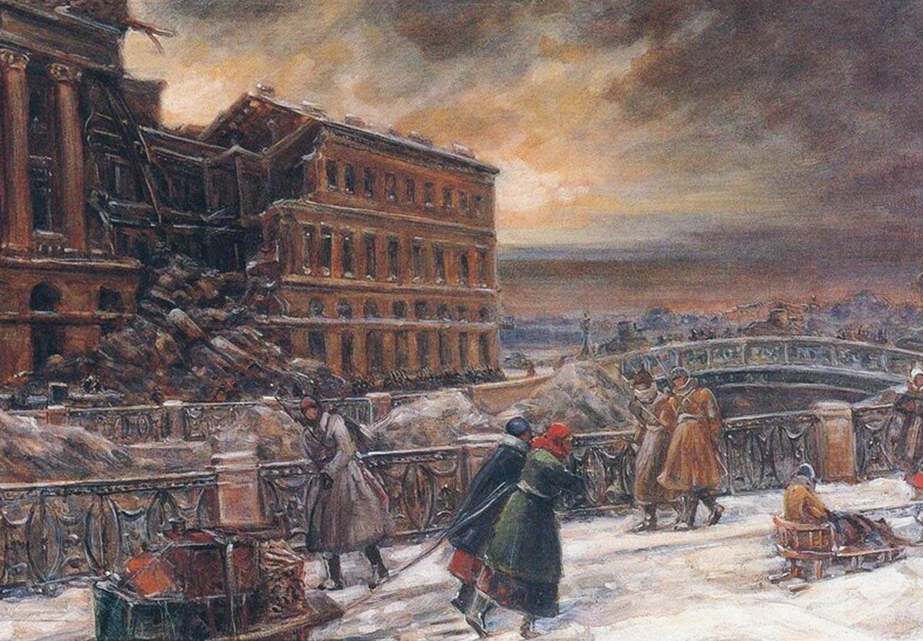 V・クチュモフ、『マルスの広場』(1942年)