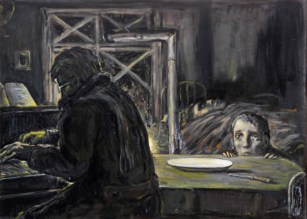 イリヤ・グラズノフ、『幼少期の記憶。レニングラード封鎖』