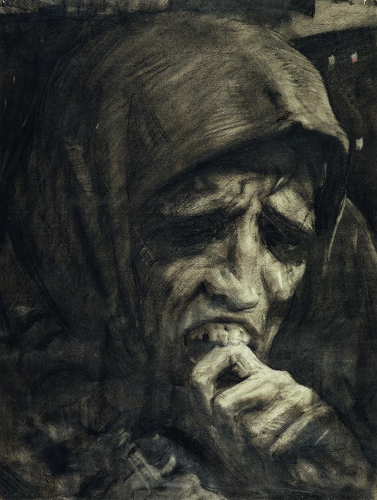 イリヤ・グラズノフ、『飢え』