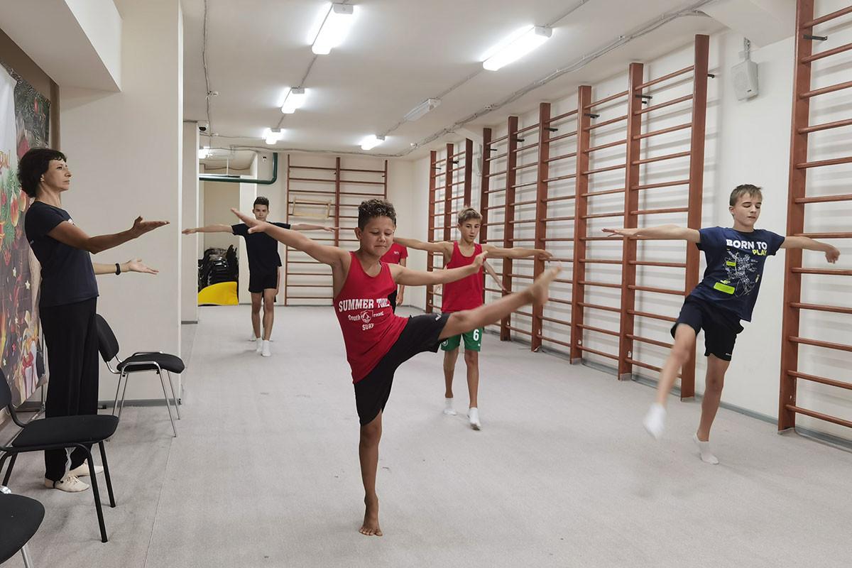 Das Gymnastikzentrum von Olympiasiegerin Julia Barsukowa in Kasan