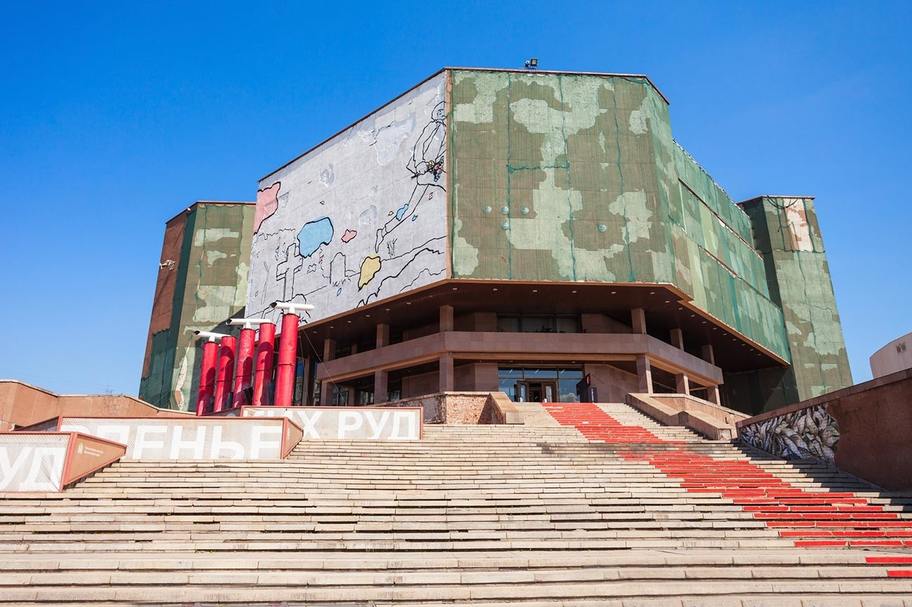 Krasnojarski kulturno-zgodovinski muzejski kompleks na trgu Miru