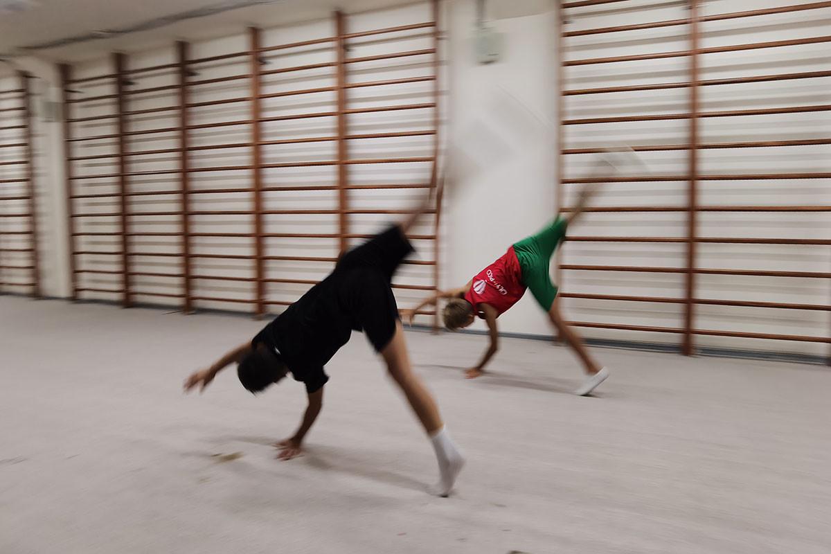 Занятия по хореографии в центре олимпийской чемпионки Юлии Барсуковой