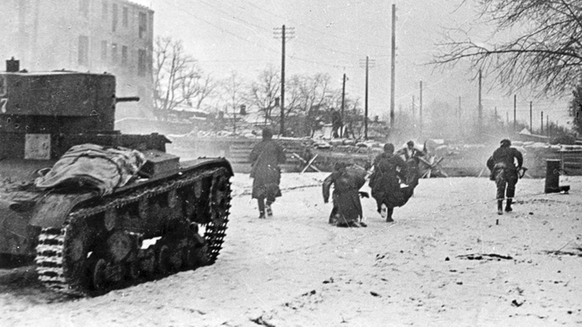 Бои за Ростов-на-Дону в 1941 году.