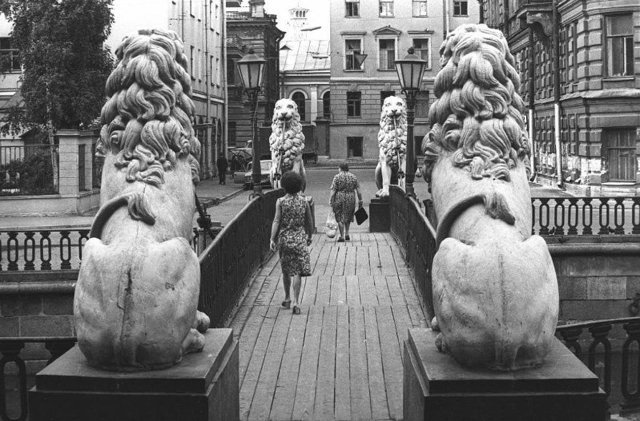 Pont aux Lions, 1972