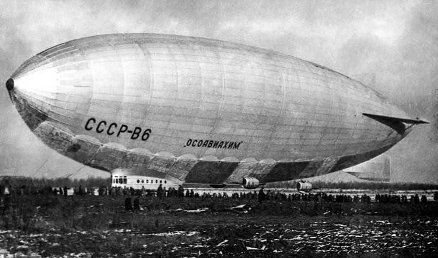 SSSR-V6 'Osoaviakhim' airship.