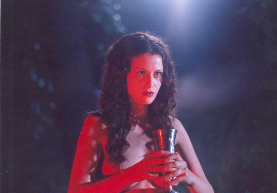 Schauspielerin Anna Kowaltschuk als Margarita.