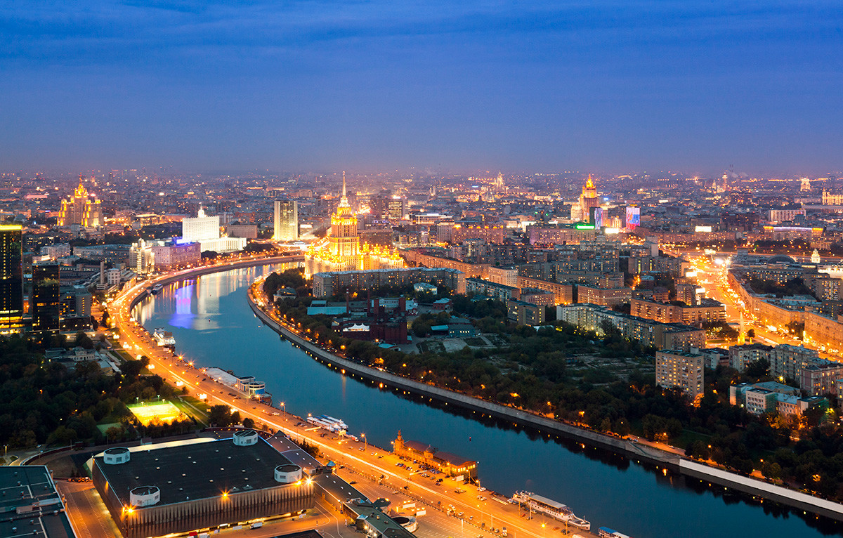 The Moskva River and Stalin's Sisters