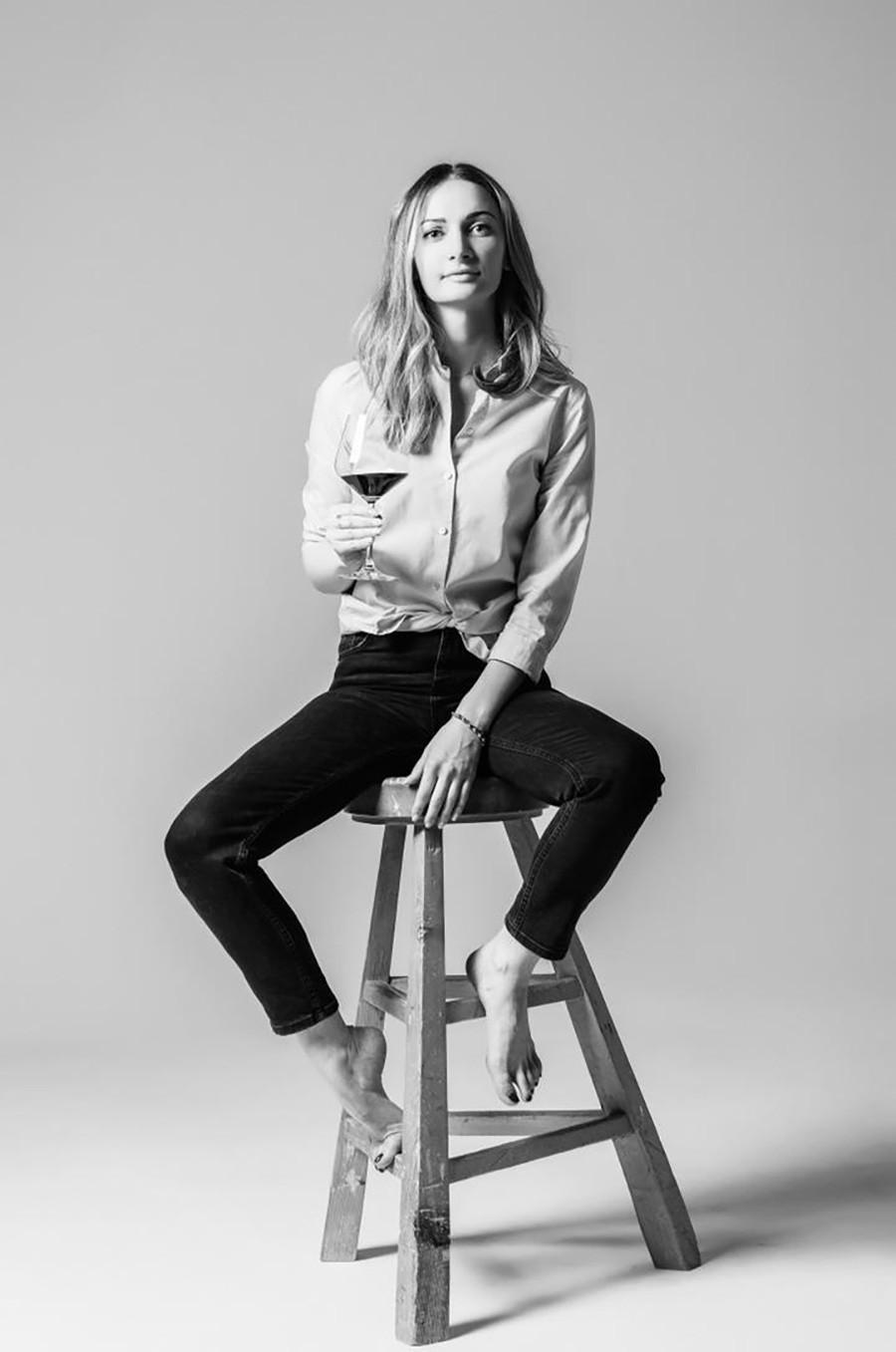 Jelena Pogodina, sommelierka restavracije BURO. TSUM.
