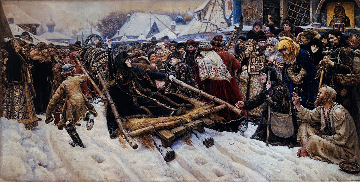 Василий Суриков. Боярыня Морозова, 1887