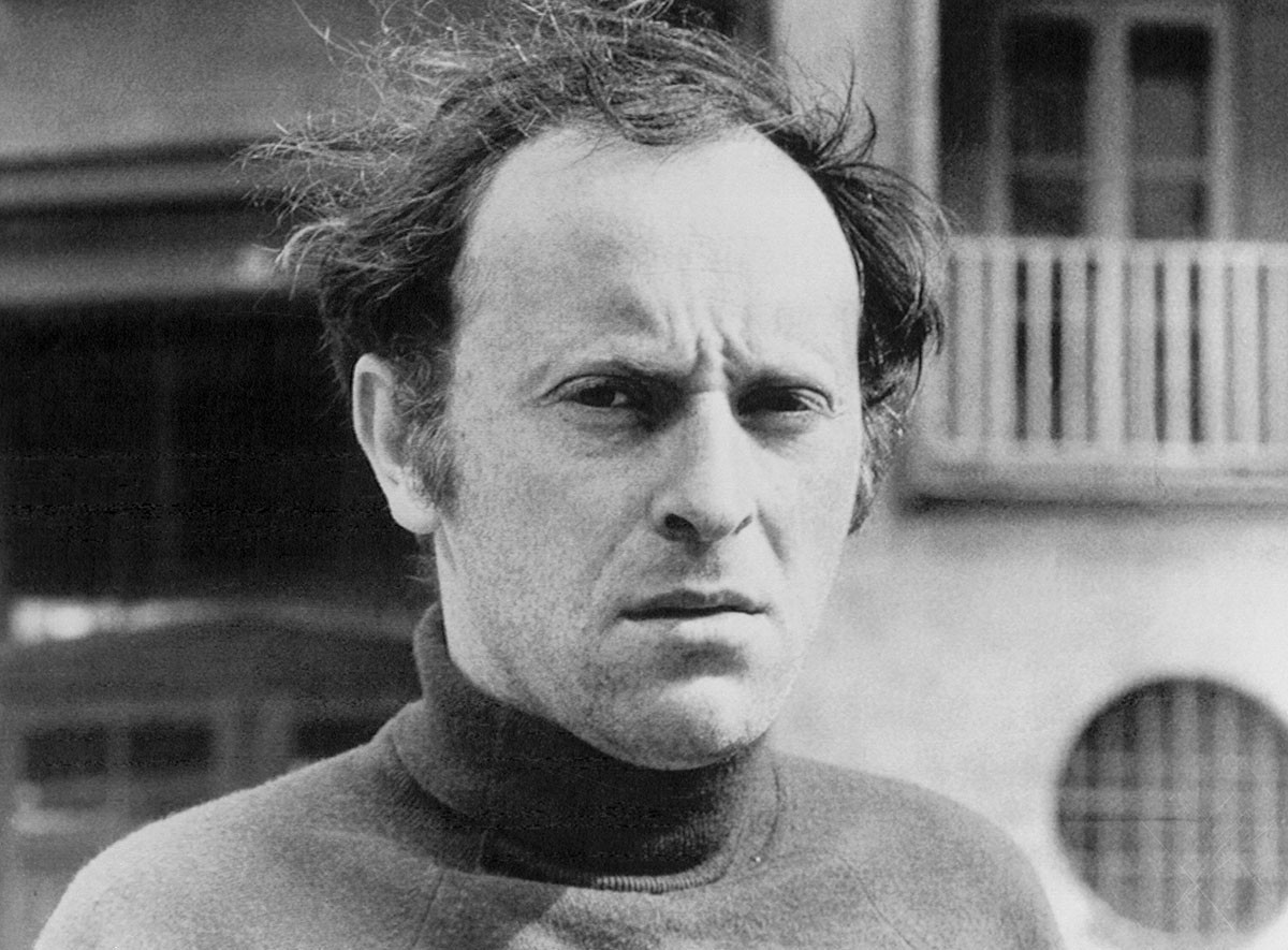 Joseph Brodsky, 1972.