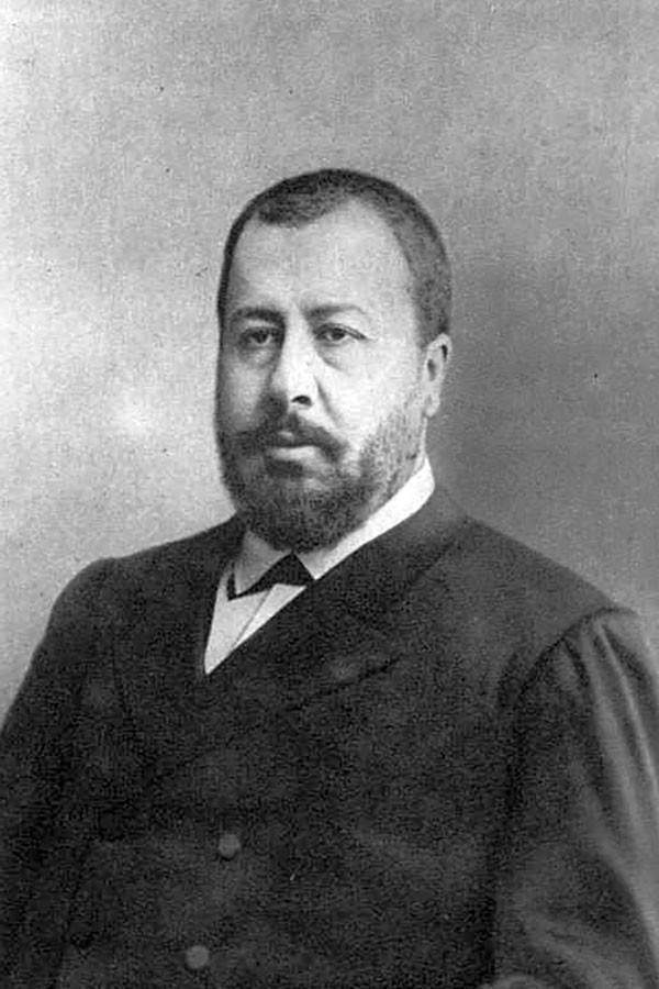 O prefeito Nikolai Aleksêiev na década de 1880.