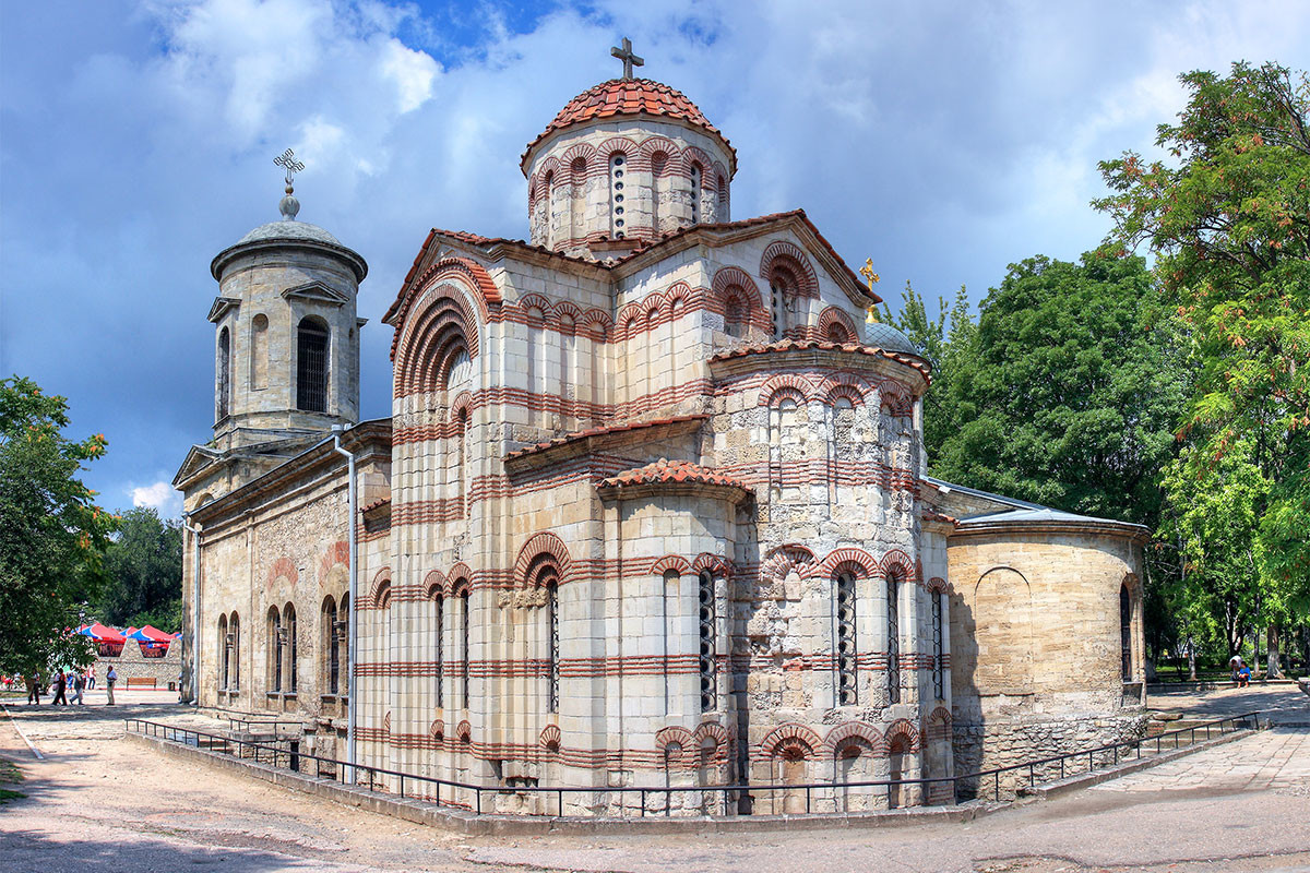 The Church of St. John the Baptist in Kerch, Crimea