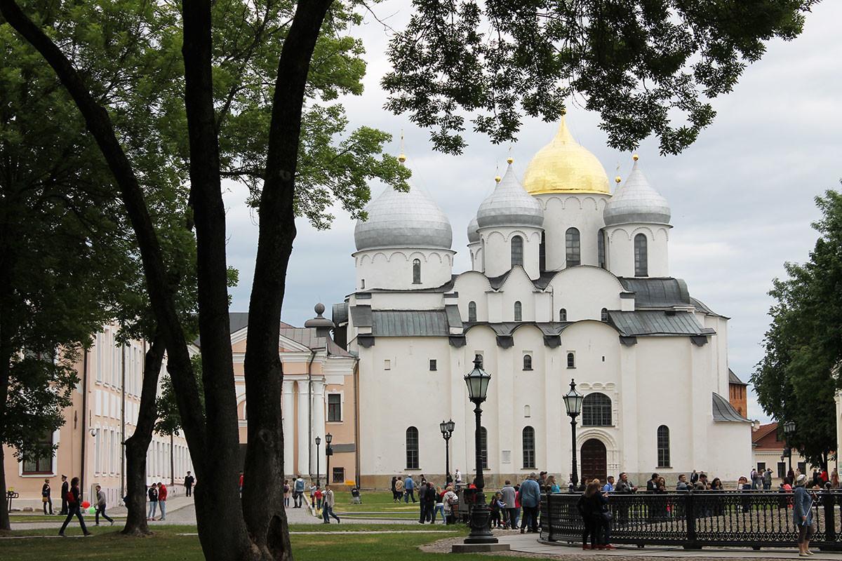 The Cathedral of St. Sophia in Veliky Novgorod
