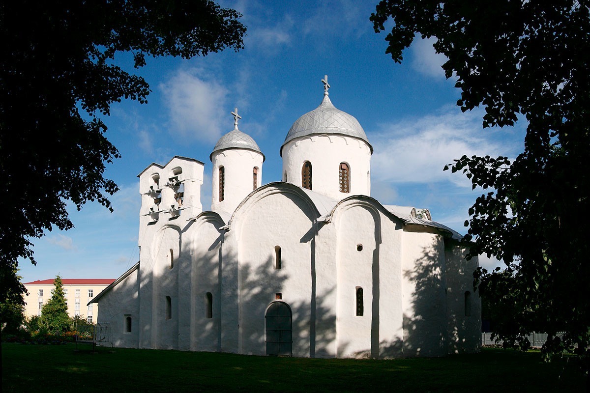 The Cathedral of John the Baptist in Pskov