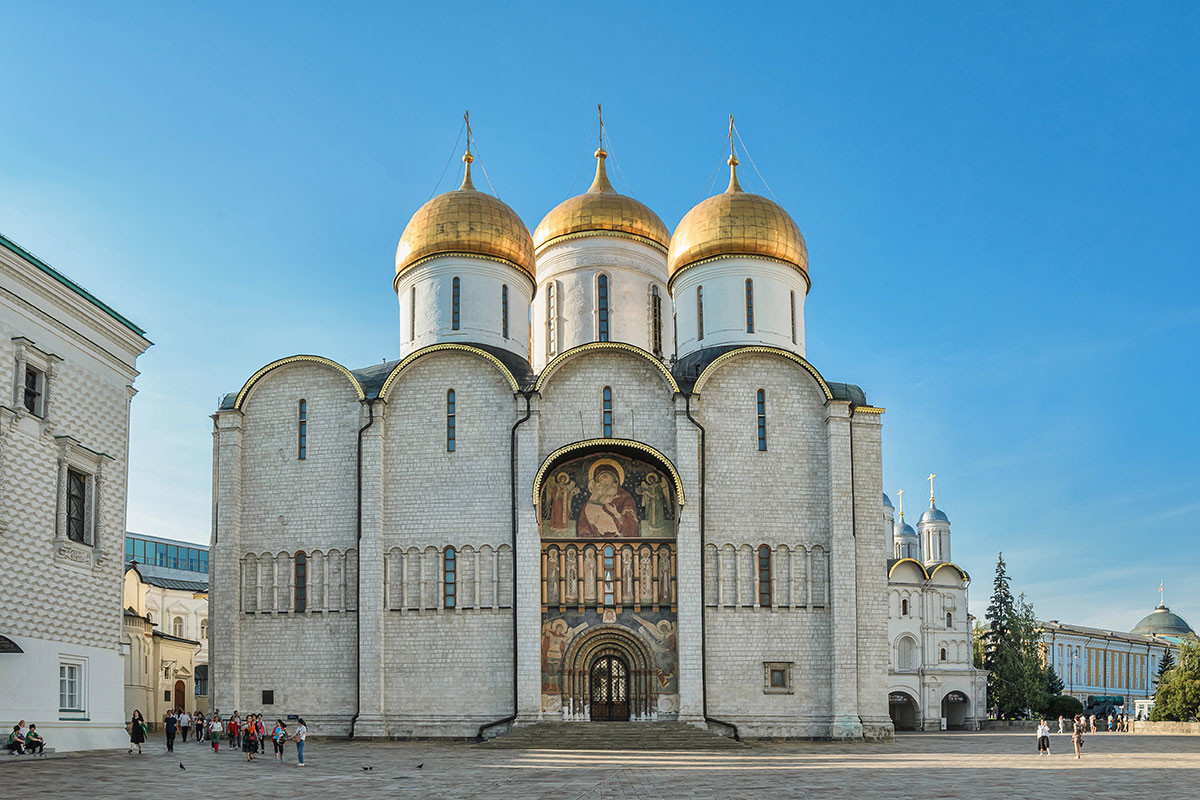 The Assumption Cathedral of the Moscow Kremlin
