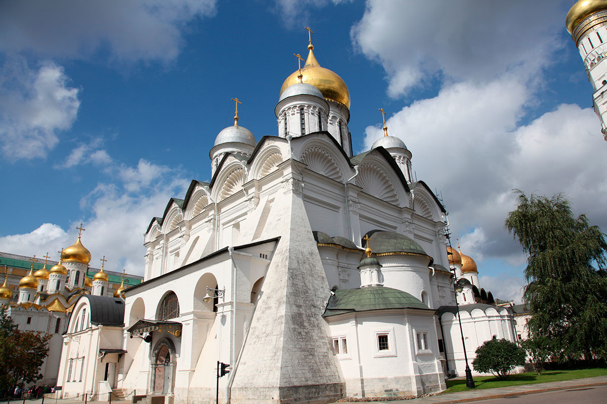 The Cathedral of the Archangel in the Moscow Kremlin