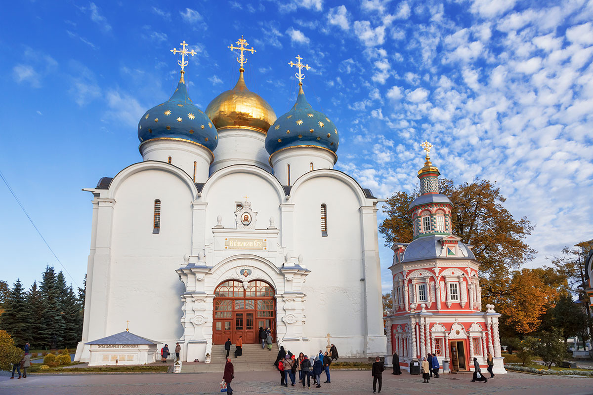 The Assumption Cathedral in the Trinity Lavra of St. Sergius