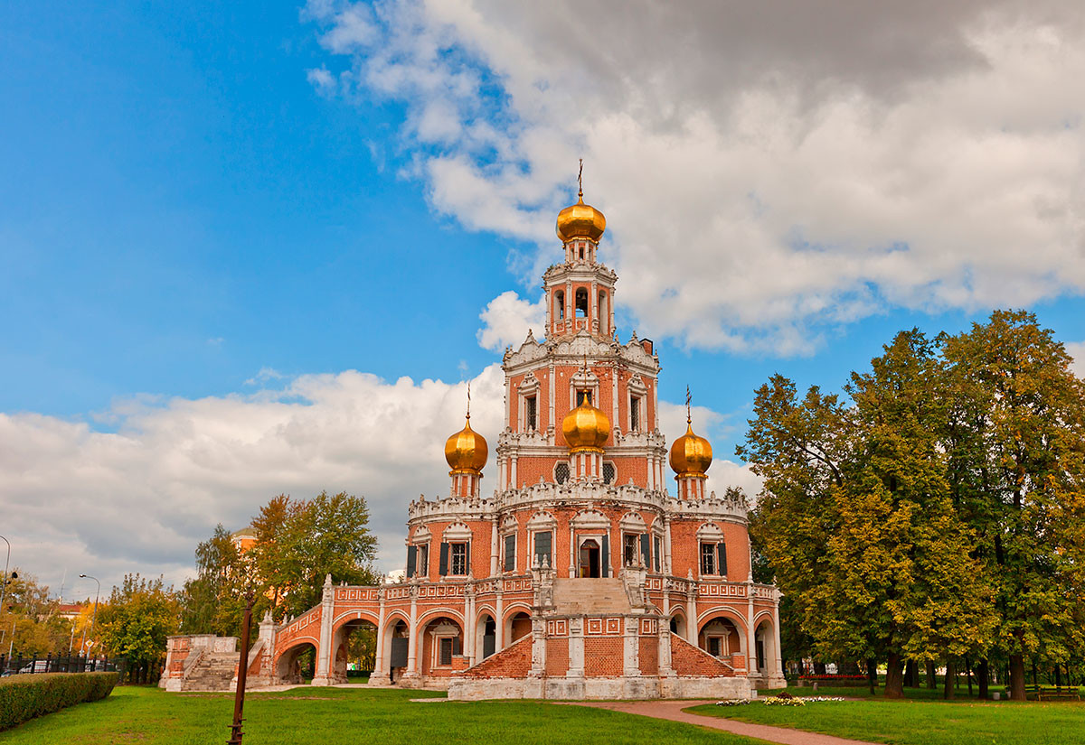 The Church of the Intercession in Fili in Moscow