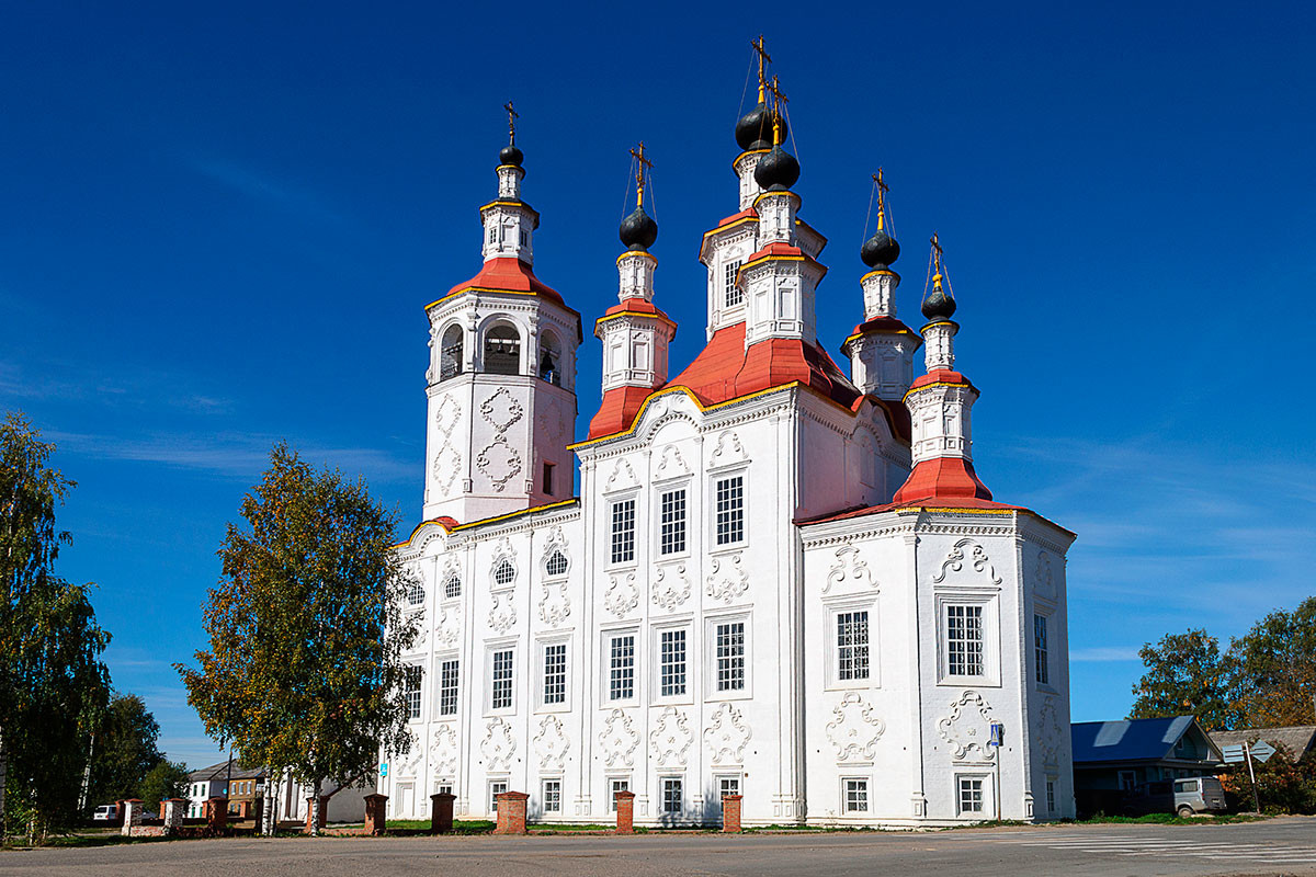 The Church of Entry into Jerusalem in Totma
