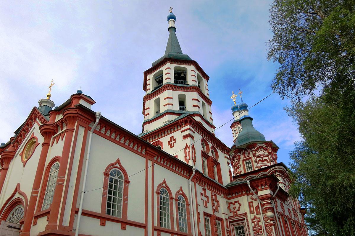 The Church of the Exaltation of the Cross in Irkutsk
