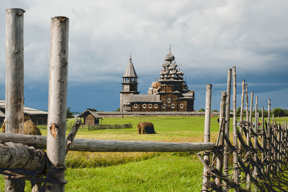 The Church of the Transfiguration on the island of Kizhi