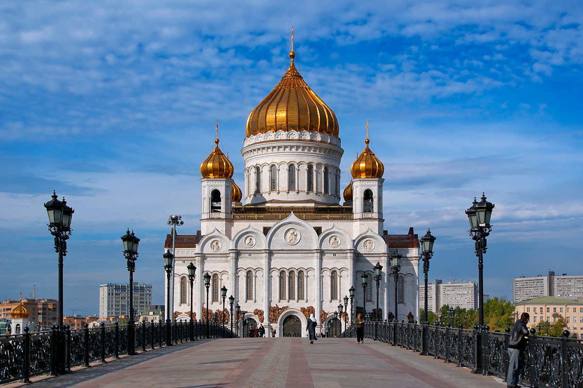 The Cathedral of Christ the Savior in Moscow
