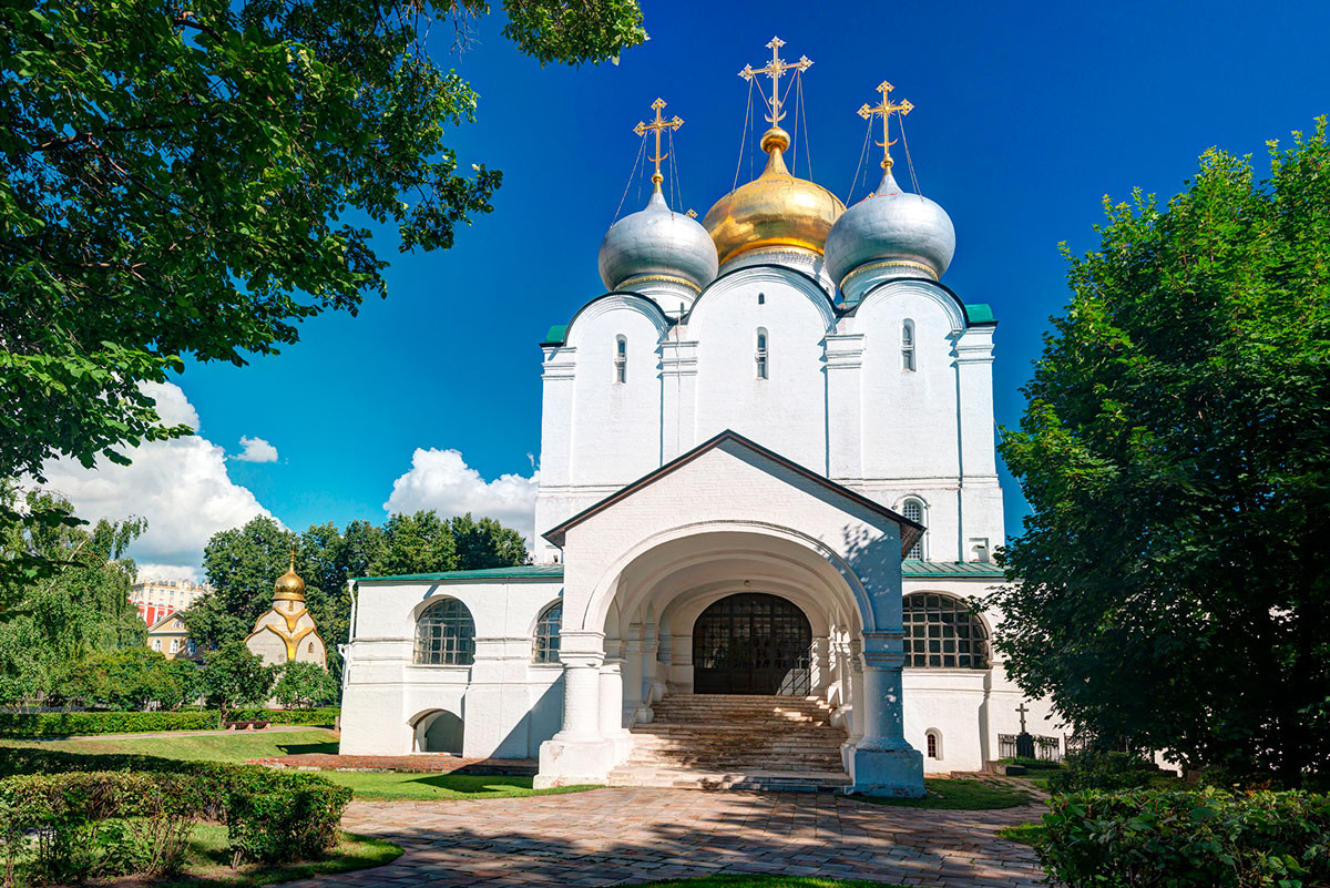 The Smolensky Cathedral of the Novodevichy Convent, Moscow