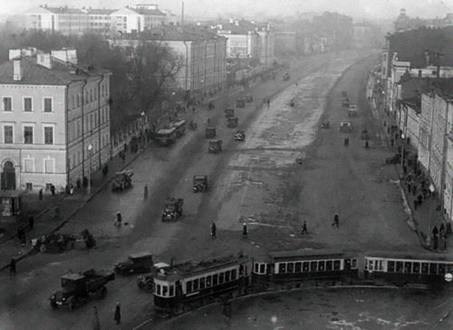 Sadovaya-Kudrinskaya, Lingkar Sadovoye, Moskow, 1936