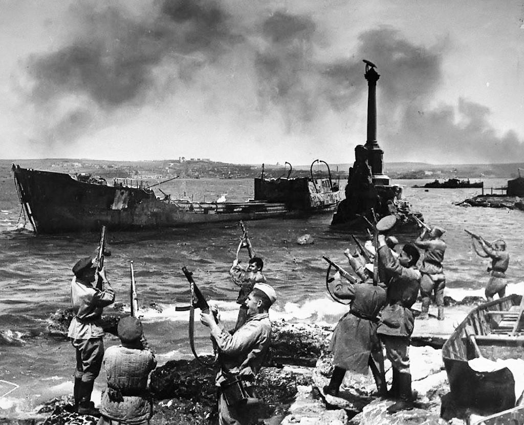 Oslobođeni Sevastopolj, svibanj 1944.