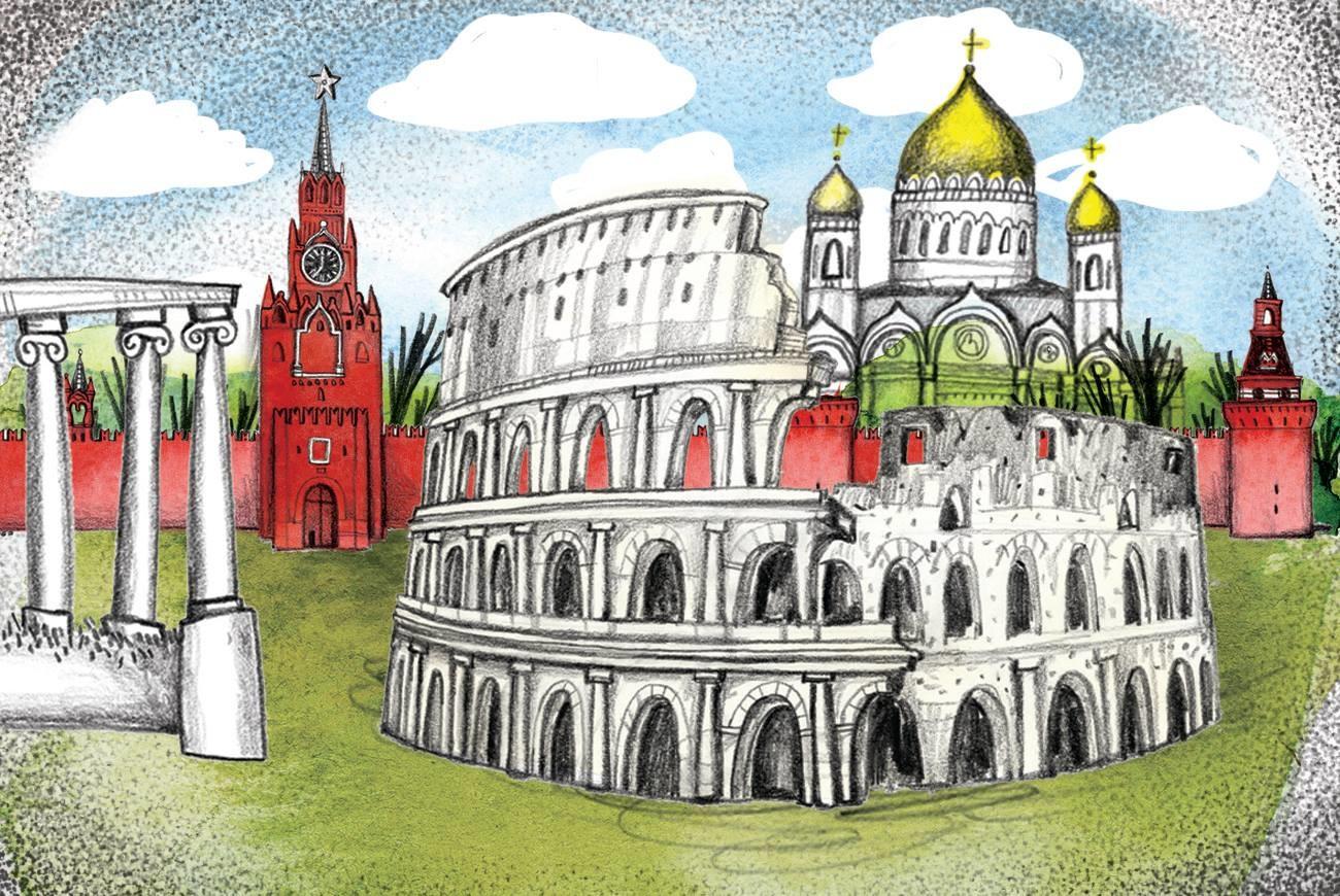 Москва - третий Рим?