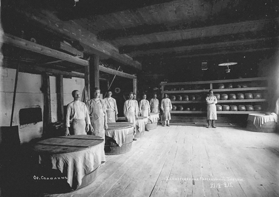 Пекарница на Сахалин.