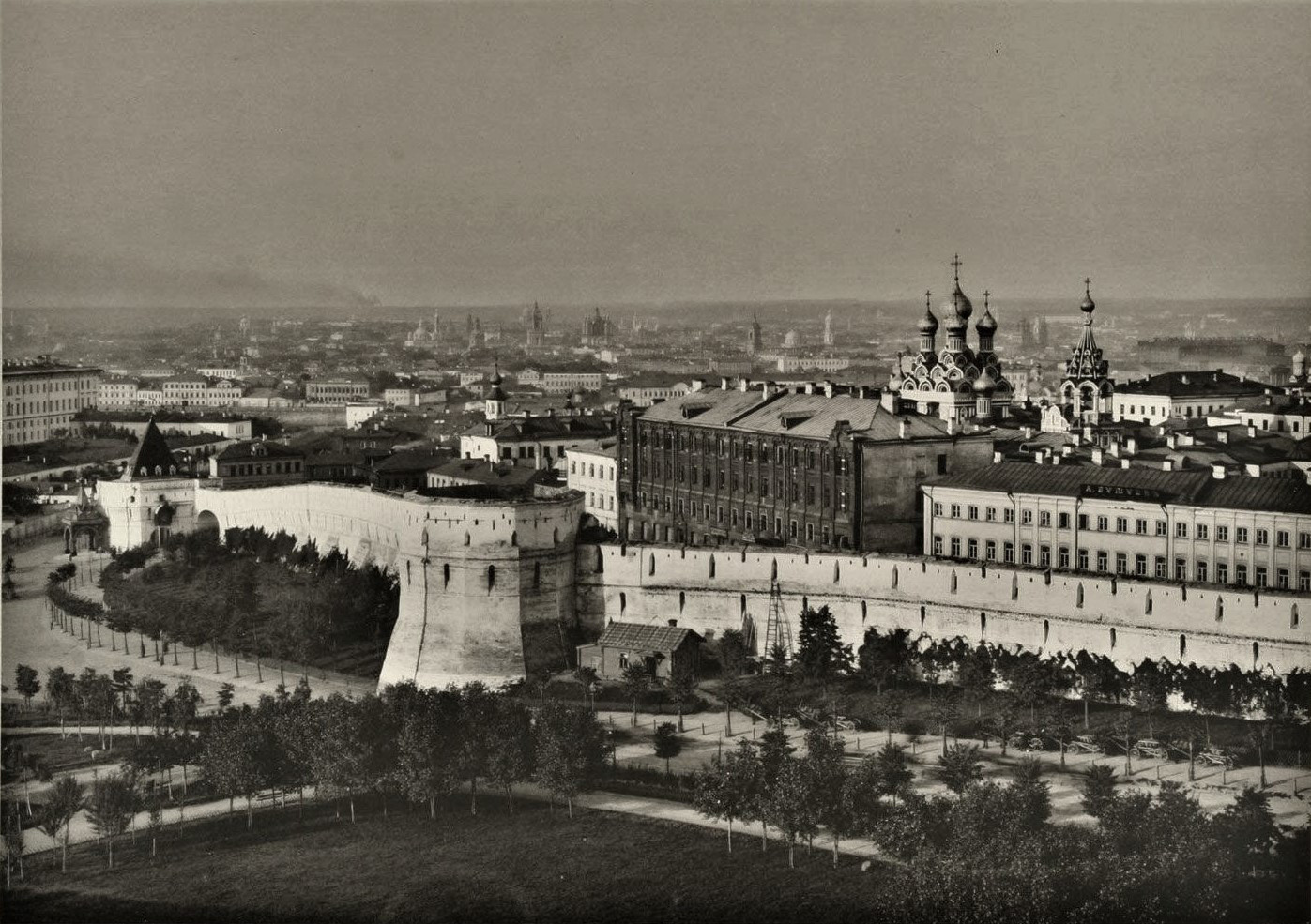 The Kitay-gorod, 1887