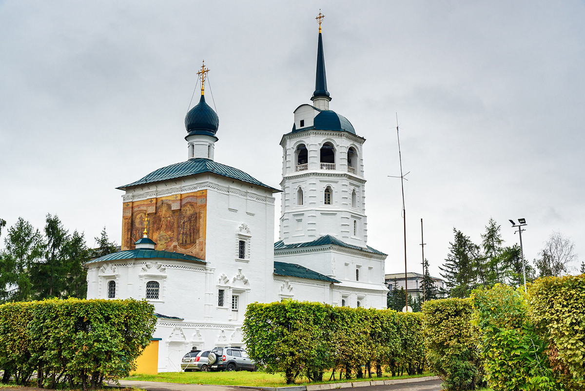 The Church of the Savior in Irkutsk