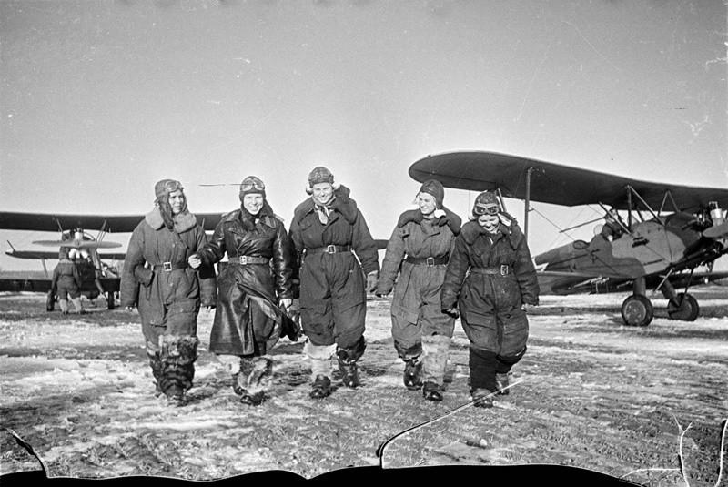 После выполнения задания, 1944