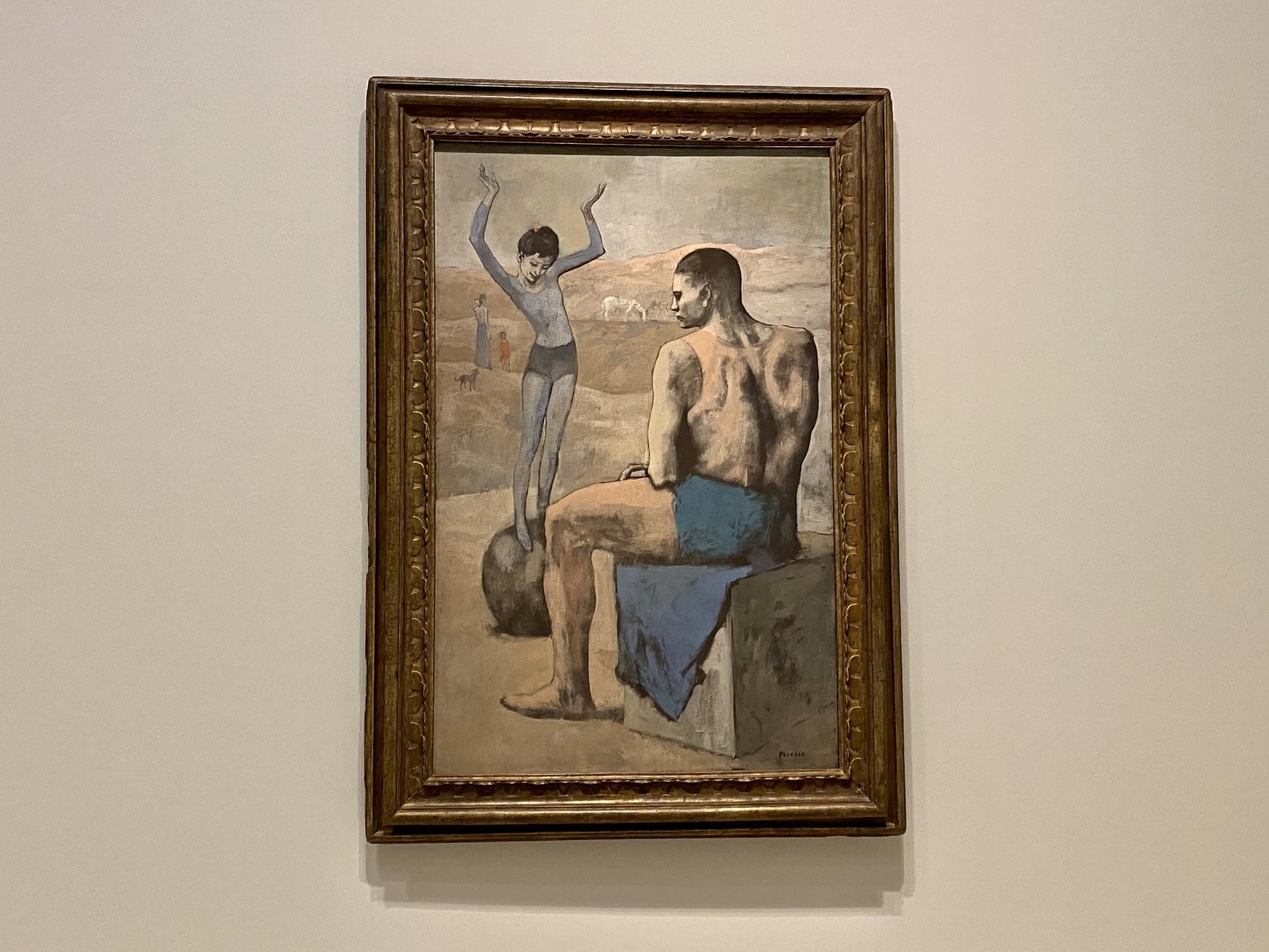 Pablo Picasso. Acrobate à la boule