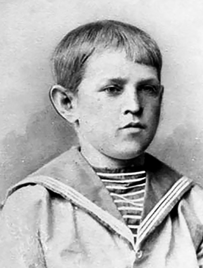 Fyodor Dostoevsky in his younger years.