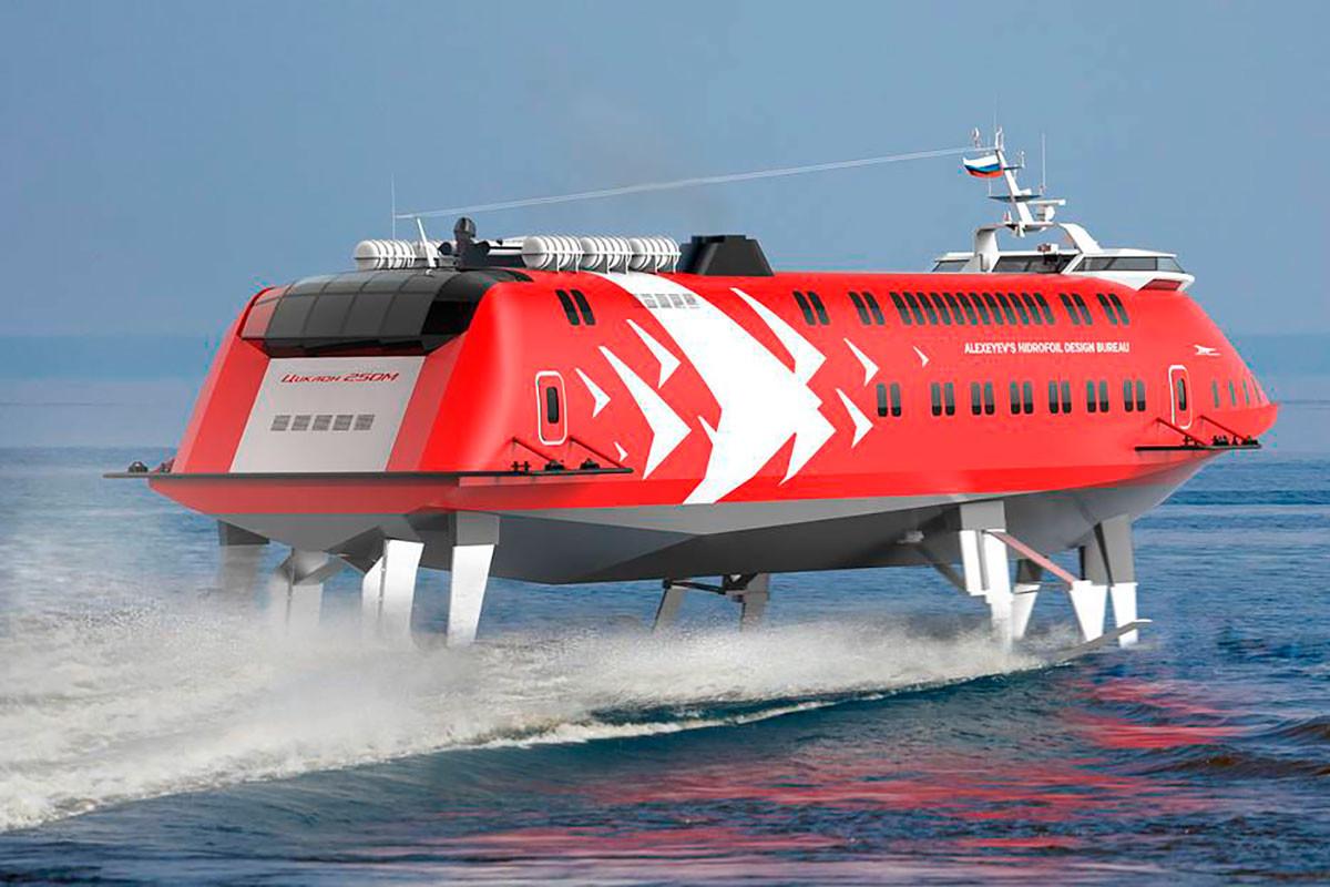 Kapal hidrofoil Tsiklon 250M