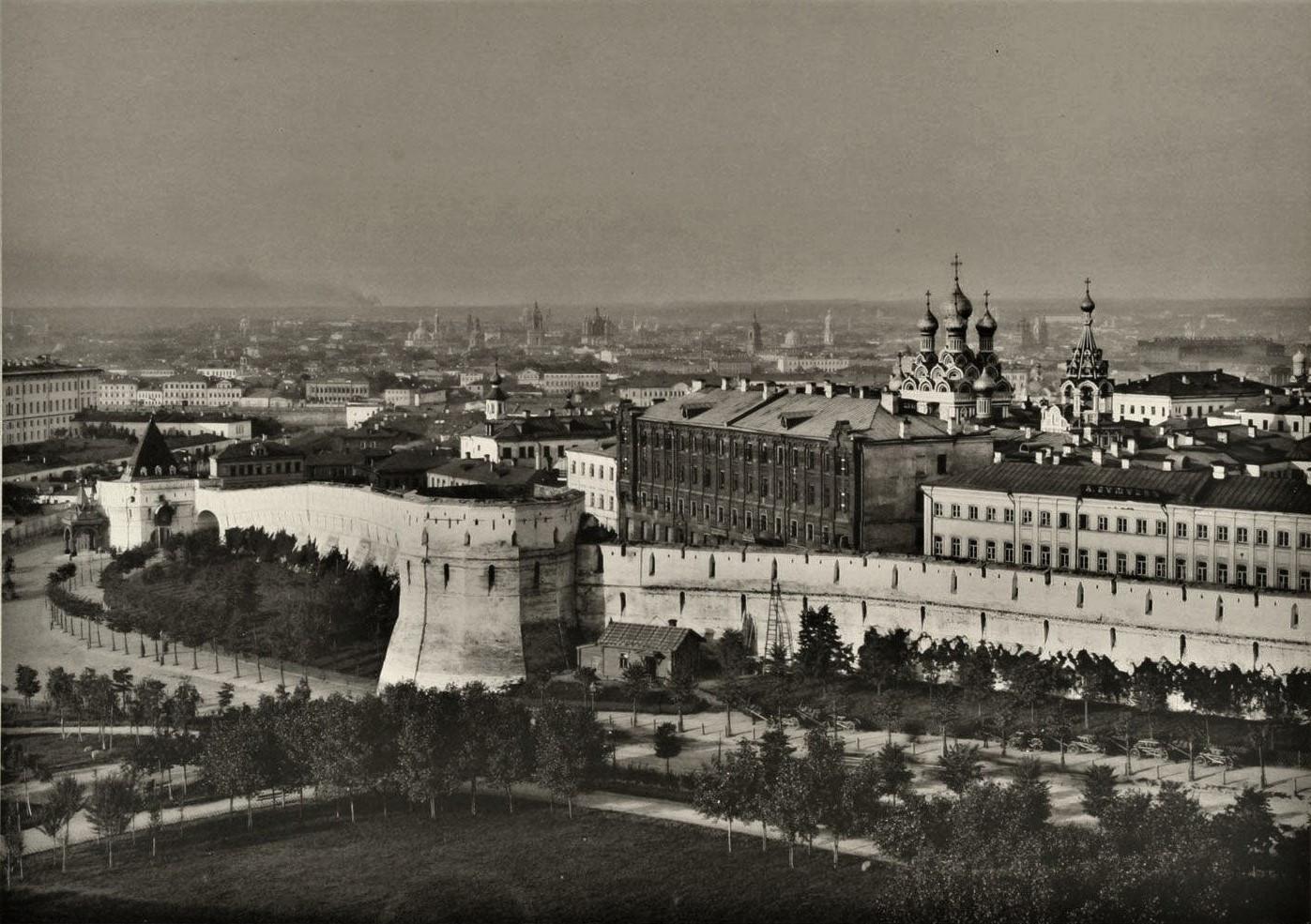Китайгородская стена, фото 1887