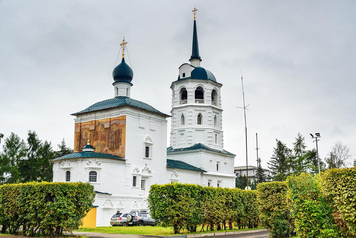 Спасская церковь в Иркутстке