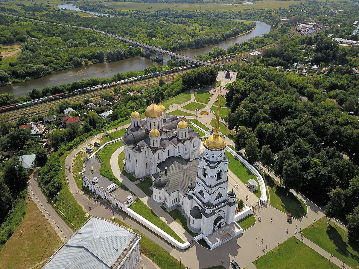 Успенский собор и древнейшая часть Владимира