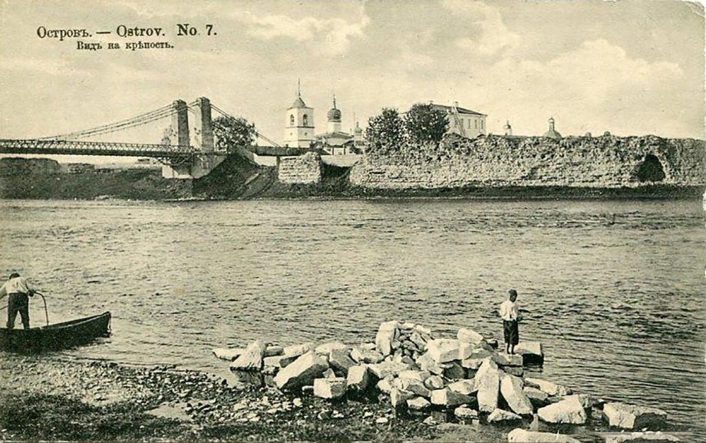 Крепость Остров, конец XIX века