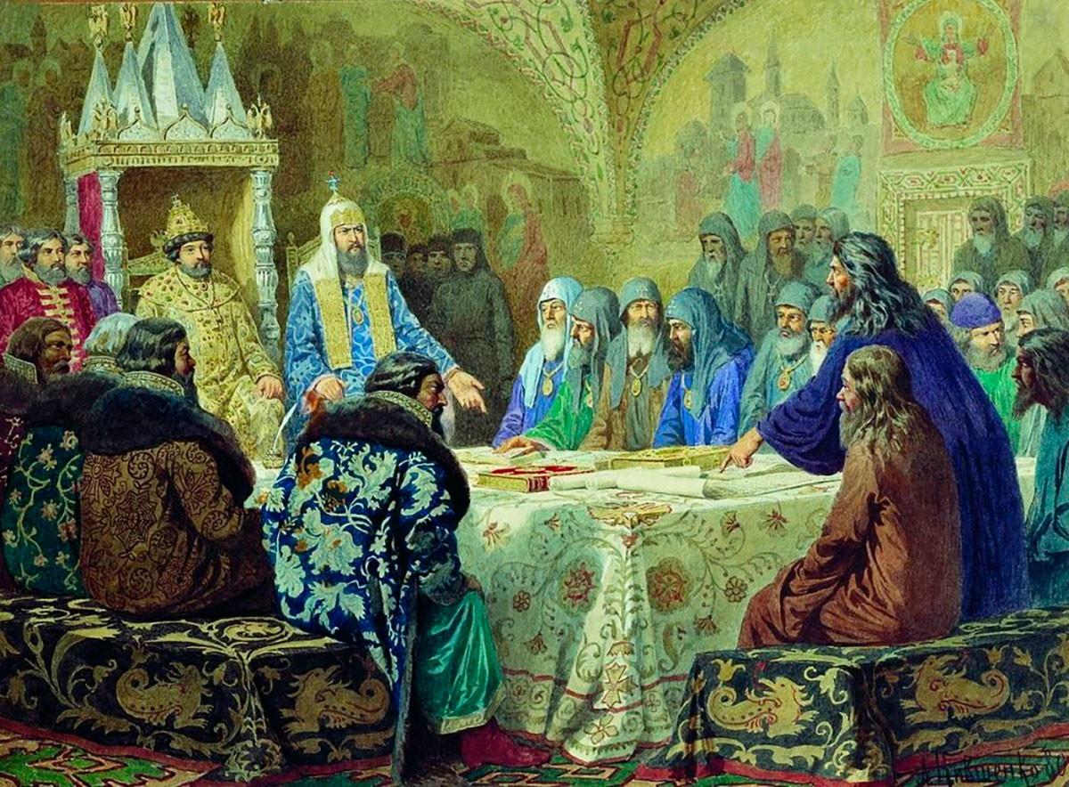 Патриарх Никон от Алексей Кившенко