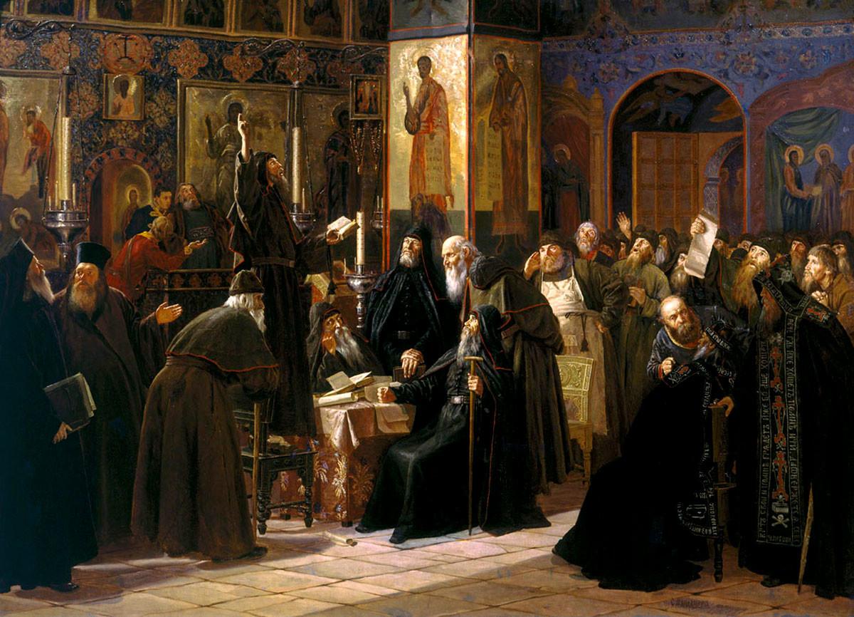 Въстание на Соловецкия манастир срещу новопечатните книги, 1666 г.