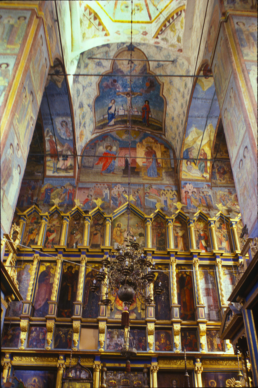 Cathedral of the Annunciation. Icon screen. June 26, 1999