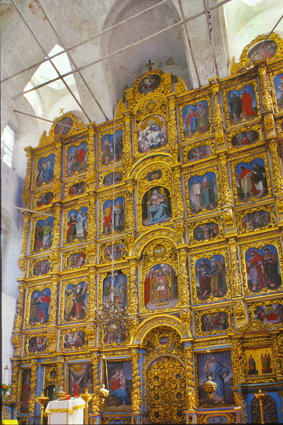 Cathedral of the Presentation. Icon screen. June 26, 1999