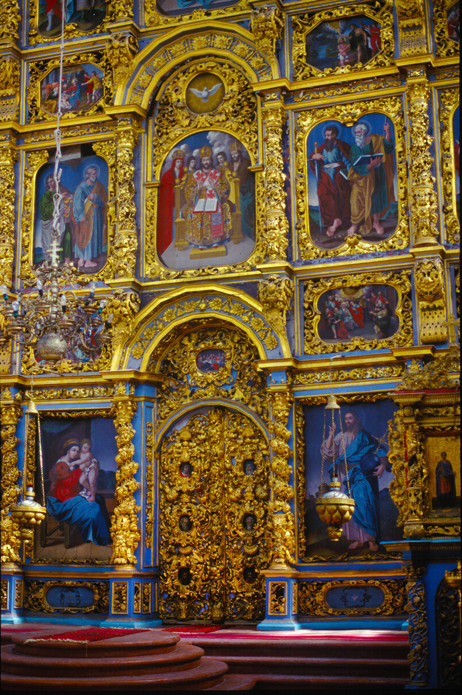 Cathedral of the Presentation. Icon screen with Royal Gate. June 26, 1999